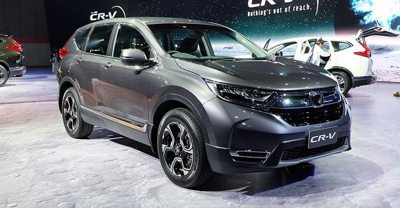 Hình ảnh thực tế Honda CR-V 2017 vừa ra mắt