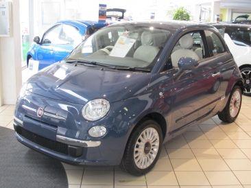 Fiat 500 Footloose Blue Fiat Cars Fiat 500c Fiat