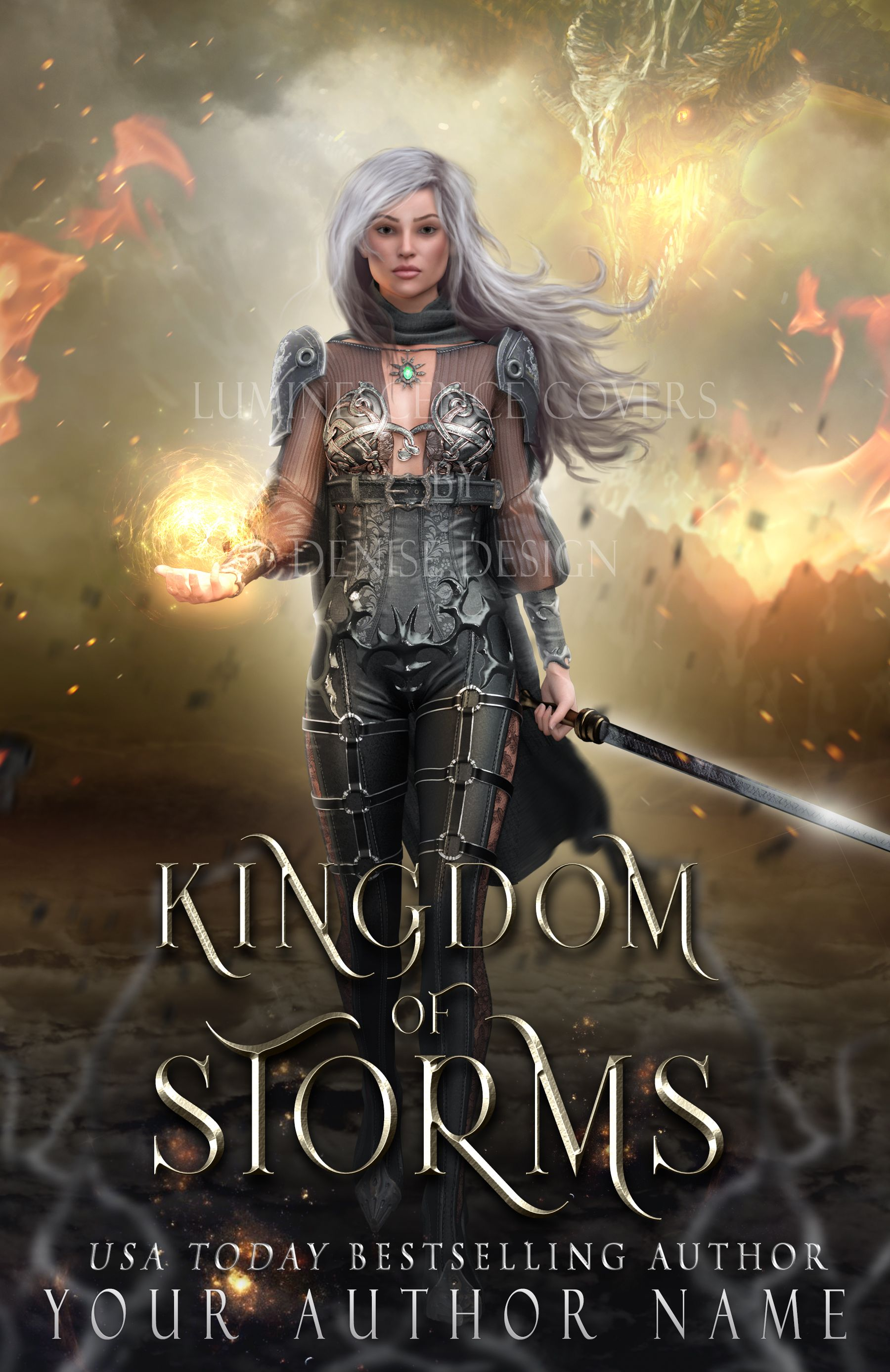 Premade and custom book cover design by Luminescence Covers