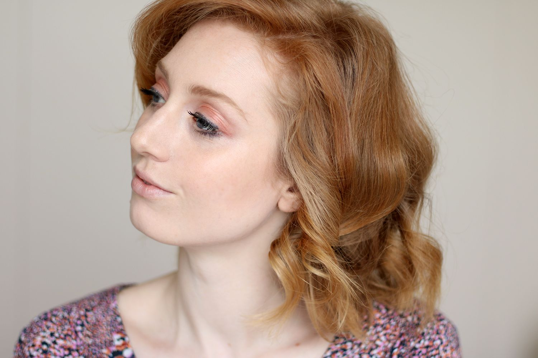Ergebnis Locken Mit Dem Glätteisen Frisur Haare Styling Schnell