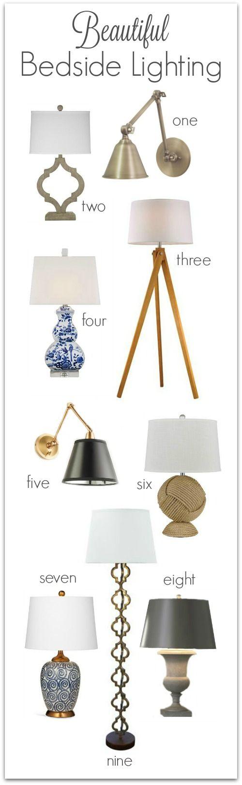 Master bedroom lighting  Bedroom Lighting Guide u Some Favorite Fixtures  Bedrooms Lights