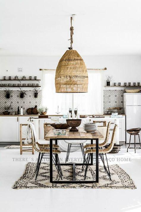 Lekker Licht Fijne Sfeer Mooie Tegels Keuken Wel Te Gewoon En - Carrelage cuisine et tapis berbere
