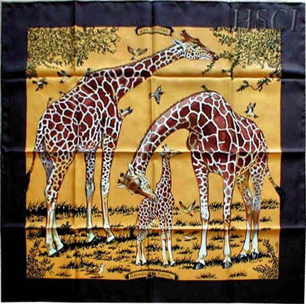 Hermes Les Girafes by Robert Dallet