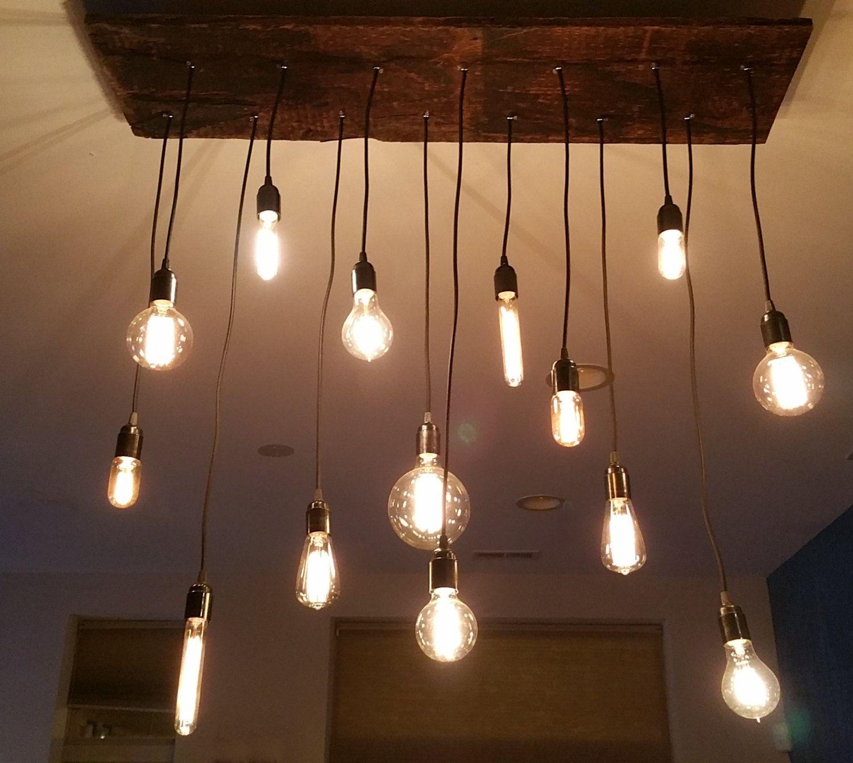 14 Pendant Industrial Chandelier Pendant lights Urban Chandelier