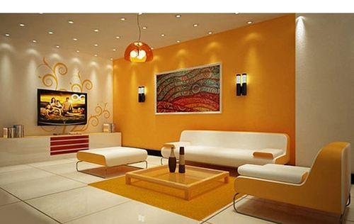 Como Pintar Una Sala Pequena De Dos Colores Decoracion De Interiores Pintura Decoracion De Salas Interiores De Casa
