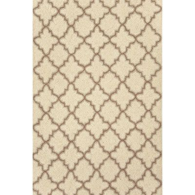 Dash And Albert Rugs Hooked Plain Tin Ivory Geometric Area Rug