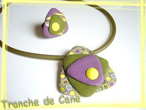 I love this piece by  Tranche de Cane.  I love the colors...simply beautiful
