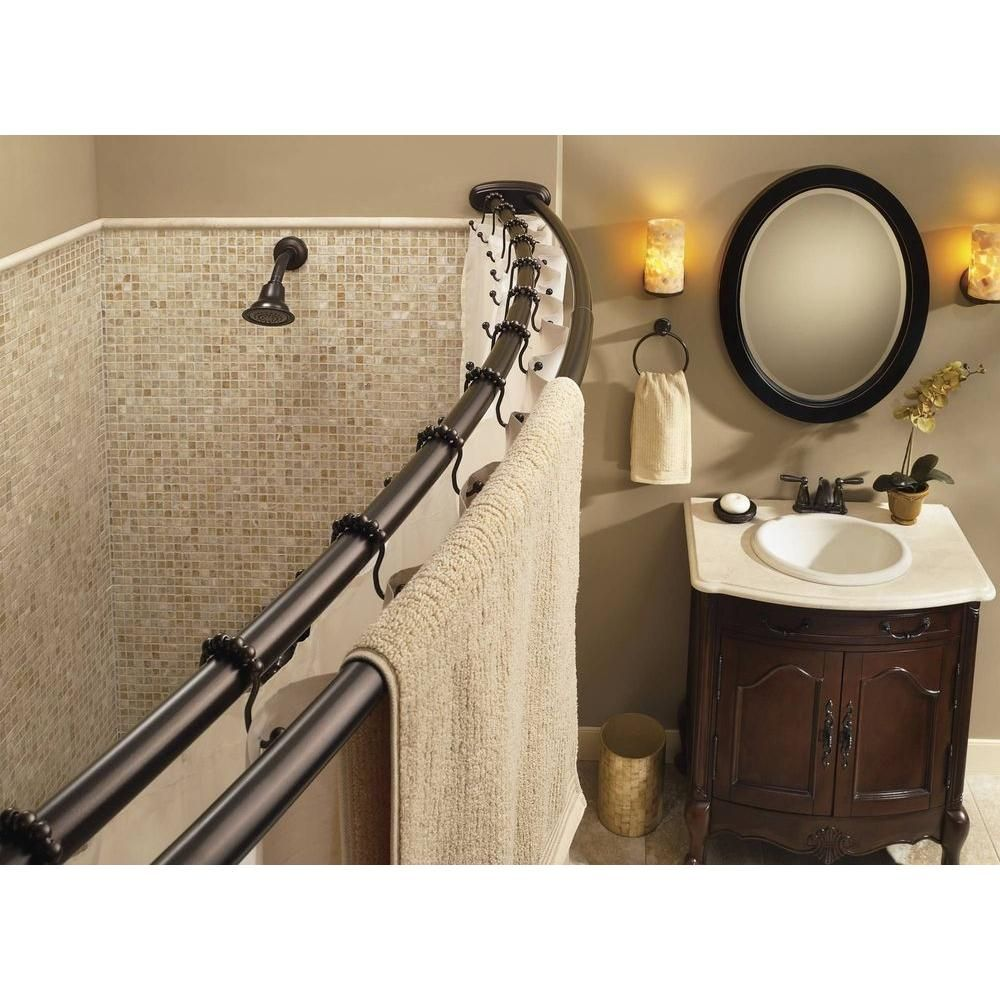 Moen Double Curved Shower Curtain Rod