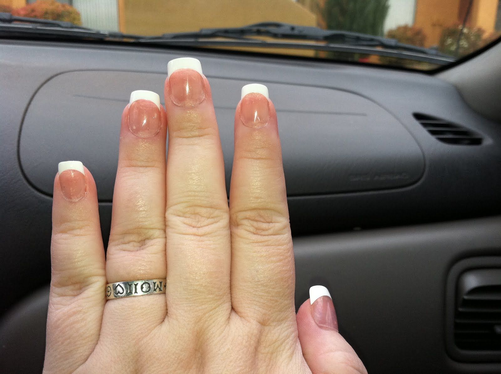 french acrylic nails 8 double team dynamicpunch