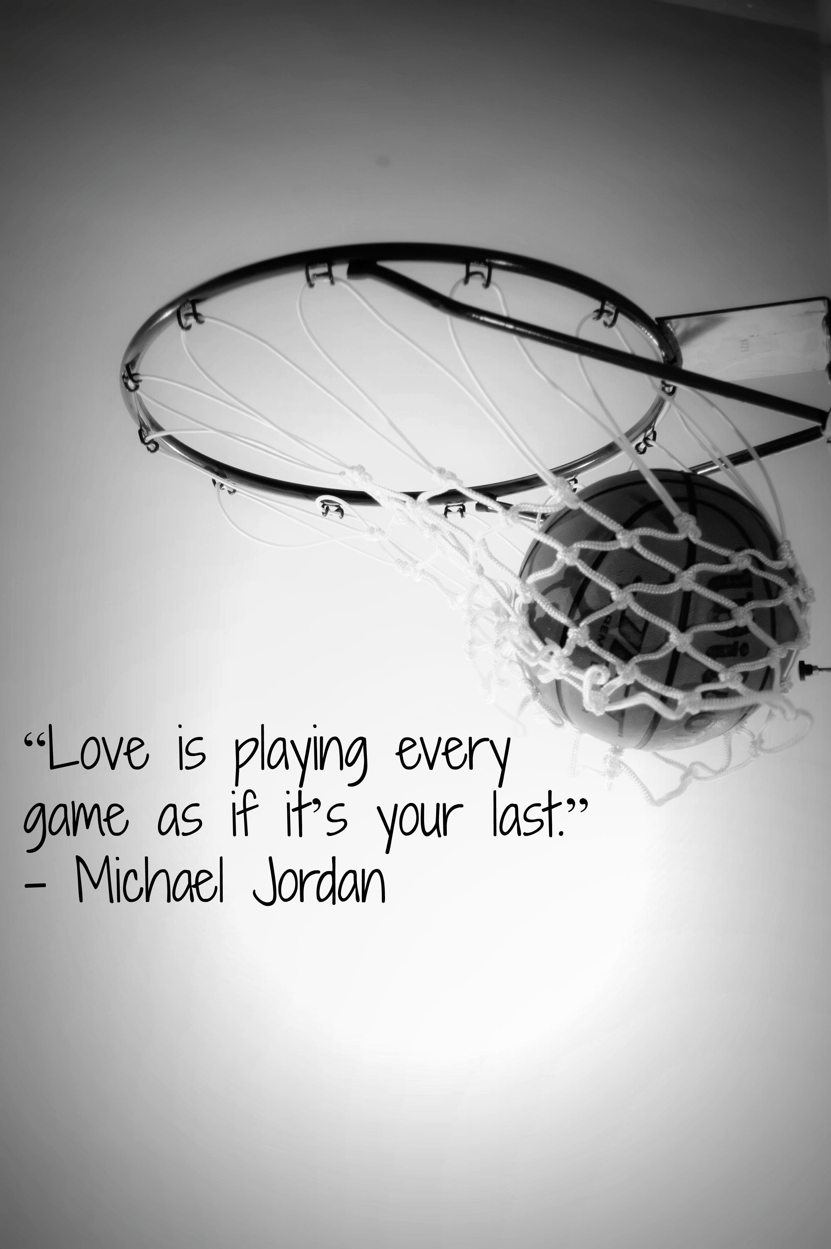 Mjmonday Love Is Playing Every Game As If It S Your Last Michael Jordan Basketball Quotes Sports Quotes Basketball Basketball Quotes Inspirational