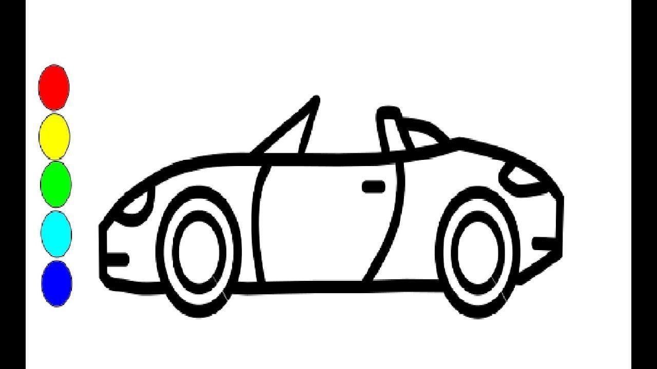 Auto Zeichnen Und Malen Fur Kinder Zeichnen Auto Kinder Zeichnen Kinder Autos Auto Zeichnen