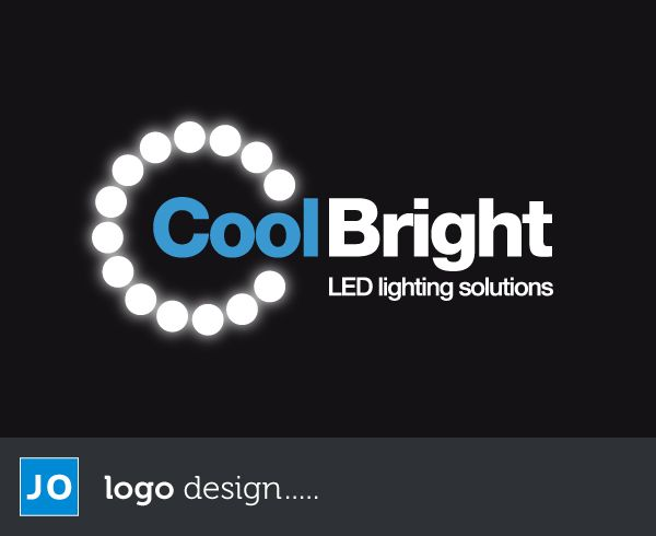 Logo design contest winner on 99Designs.com for Cool Bright LED Lighting Solutions based in Florida