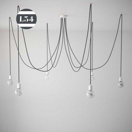 Luminaire 6 fils