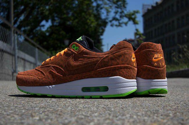 "Nike Air Max 1 FB ""Bright Citrus Leopard"""