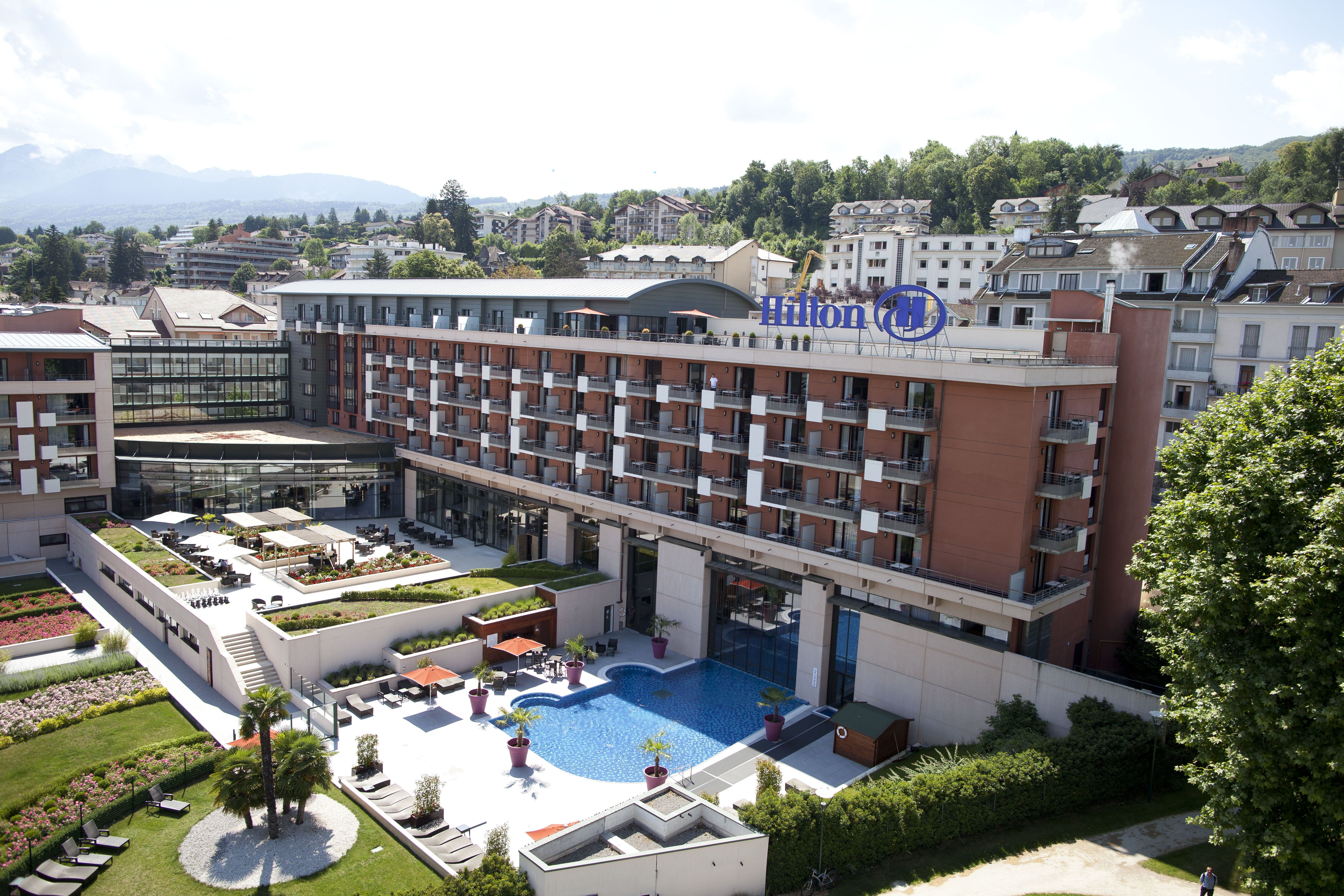 Thonon Les Bains Hotel Nestled Between Lake Geneva And The French Alps The Hilton Evian
