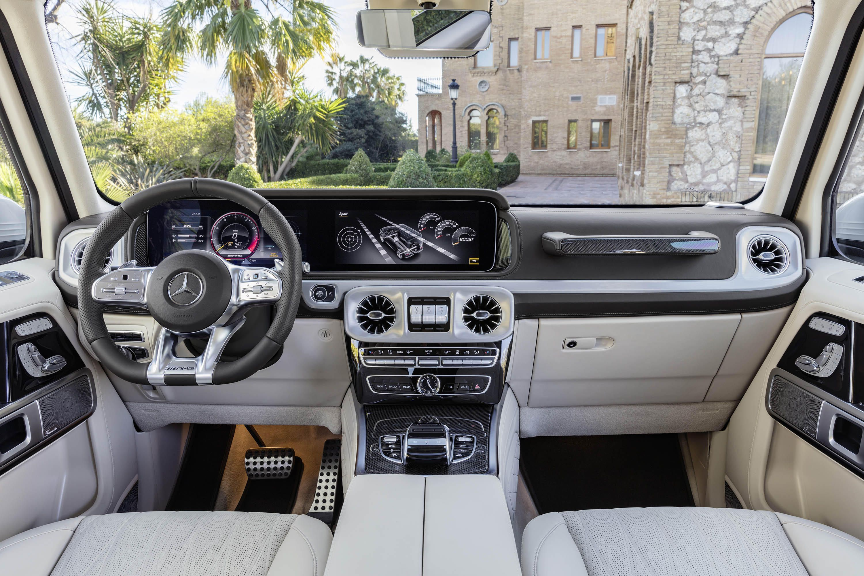 2019 Mercedes Amg G63 Brings 577 Hp To Geneva With Images
