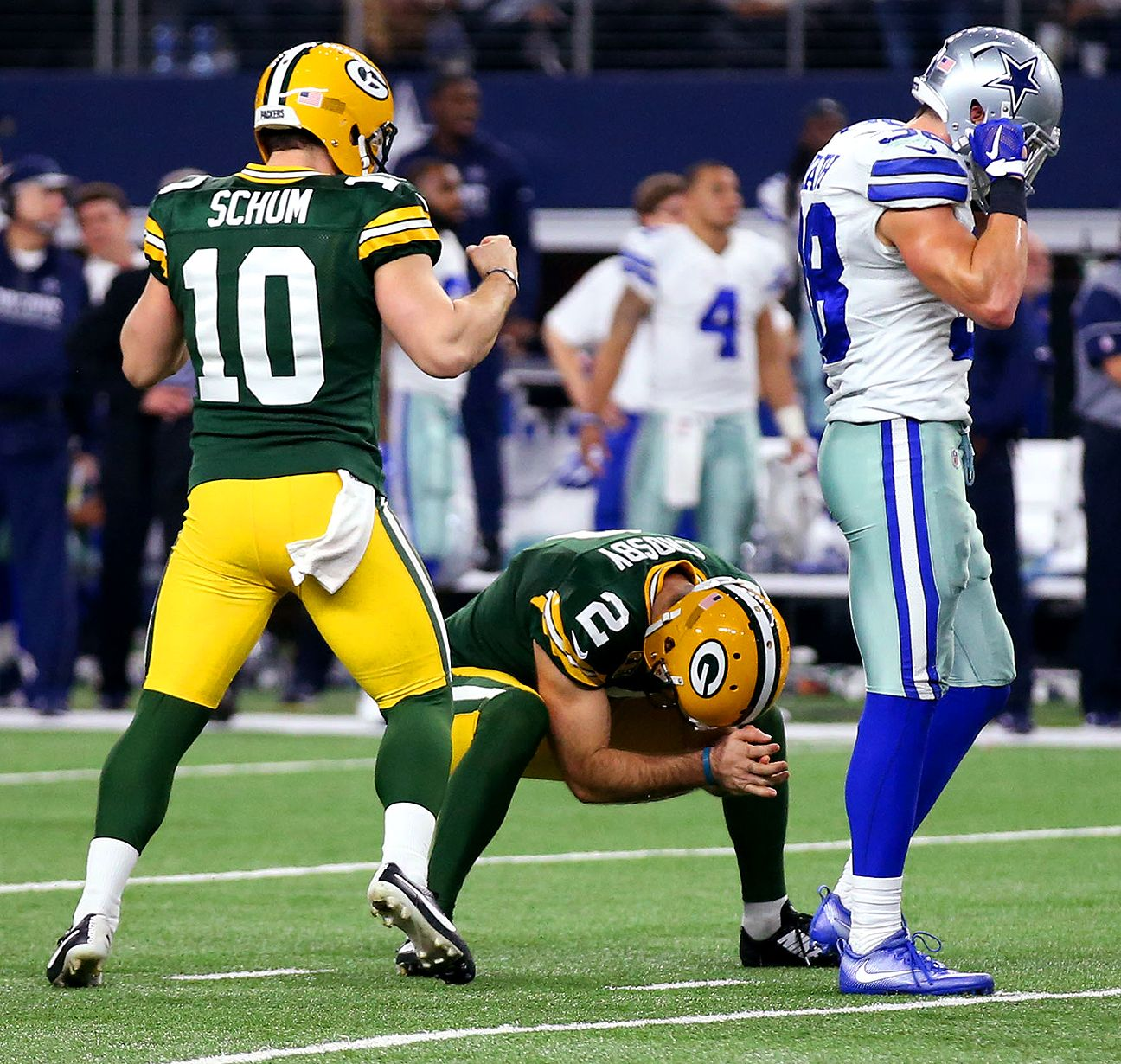 The catch, the kick and the Packers move on Nfc