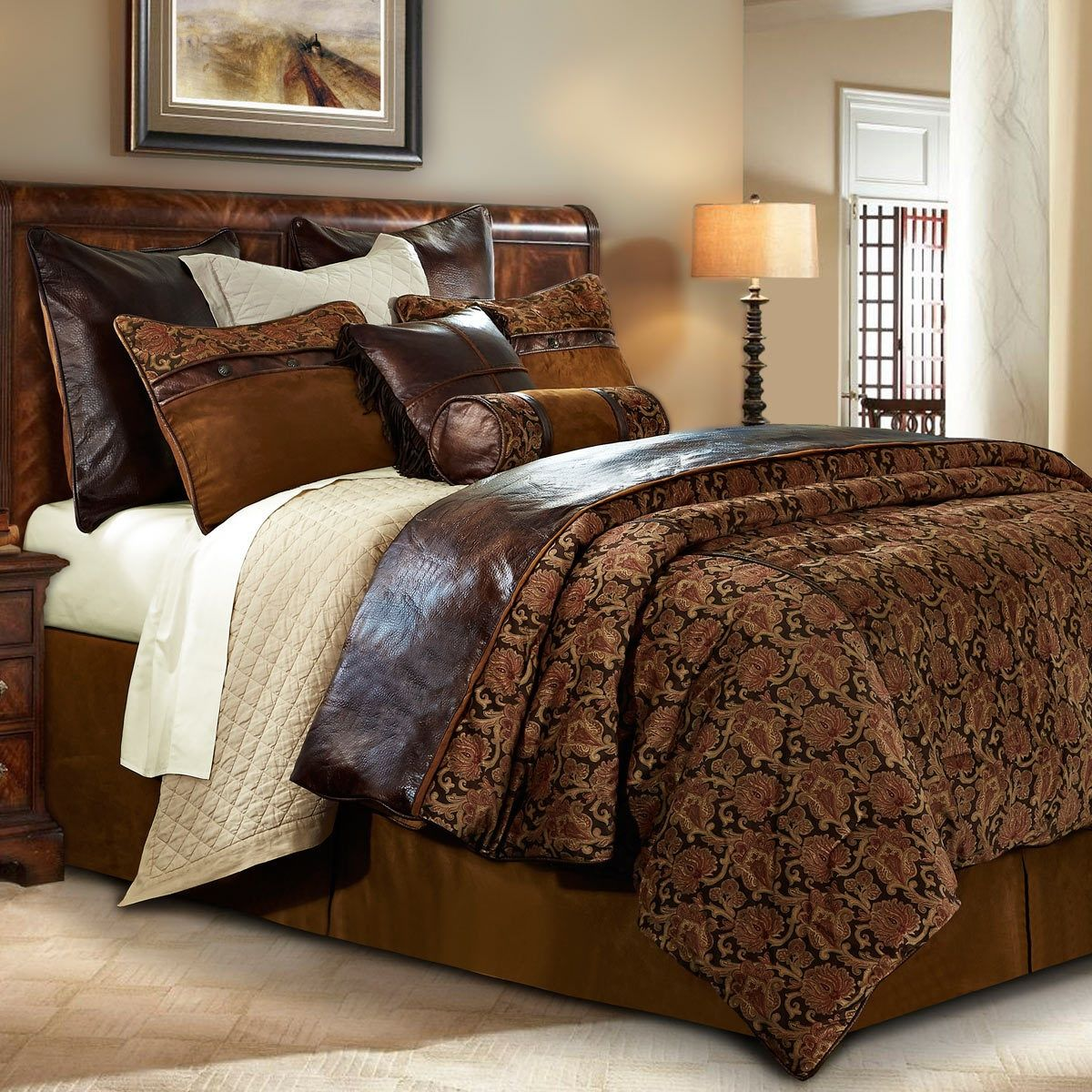 Austin Bed Set King Bed Linens Luxury