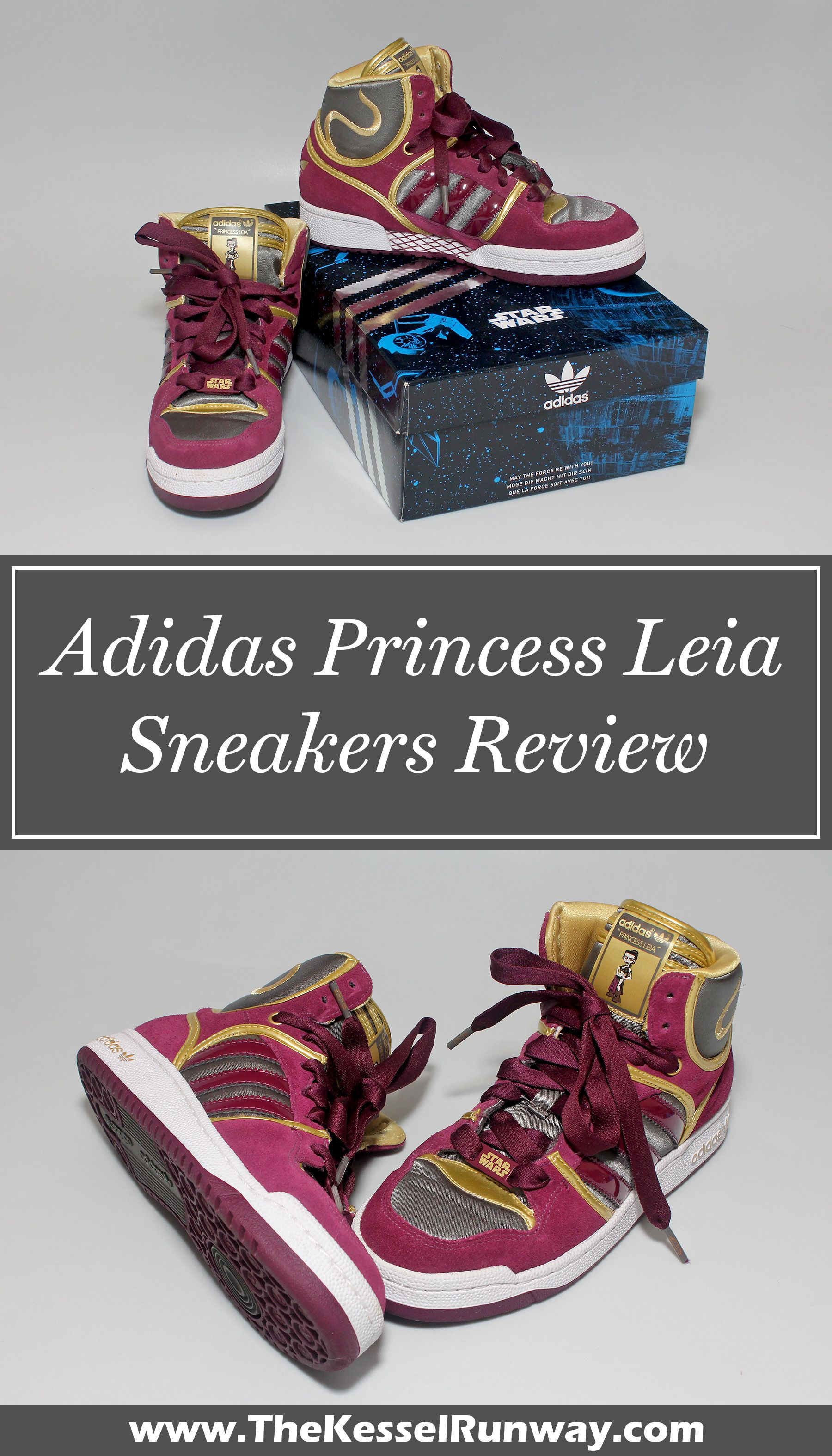 Review Princess Leia Star Zapatos by Adidas | Star Leia Wars fashion 2084db
