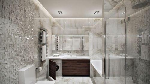 waschraum-badezimmer-waschmaschine-modern-apartment-inneneinrichtung - inneneinrichtung