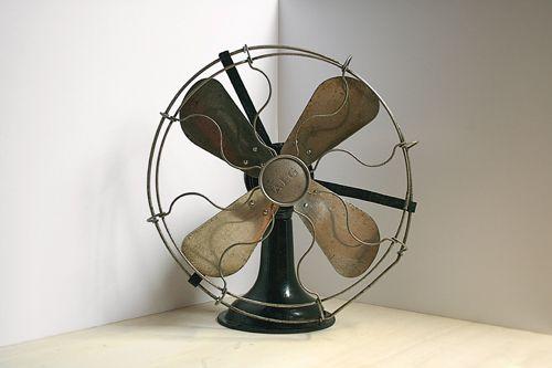AEG Fan, designed by Peter Behrens, 1908