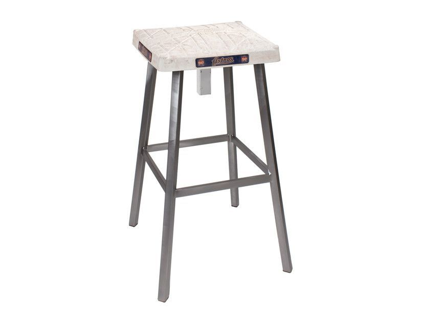Fabulous Houston Astros Game Used Base Stool Products Astros Game Squirreltailoven Fun Painted Chair Ideas Images Squirreltailovenorg