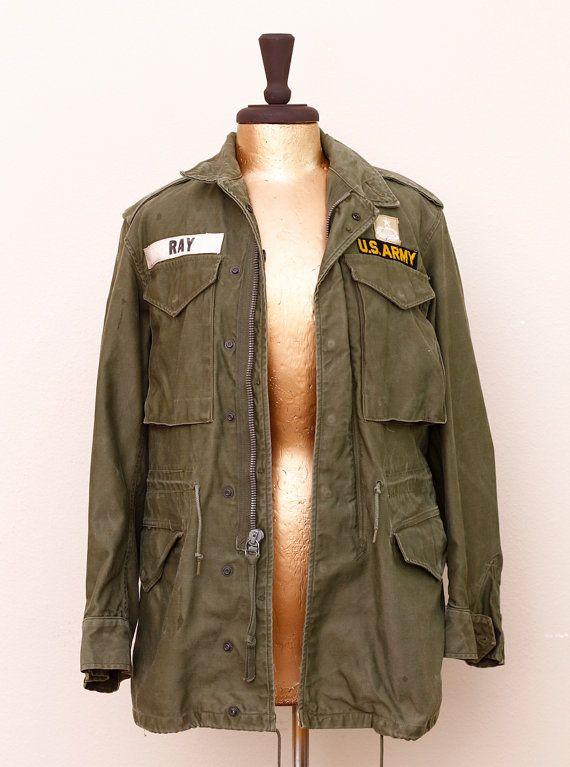 Men s or Women s Vintage Military Cargo Jacket 9054c320d