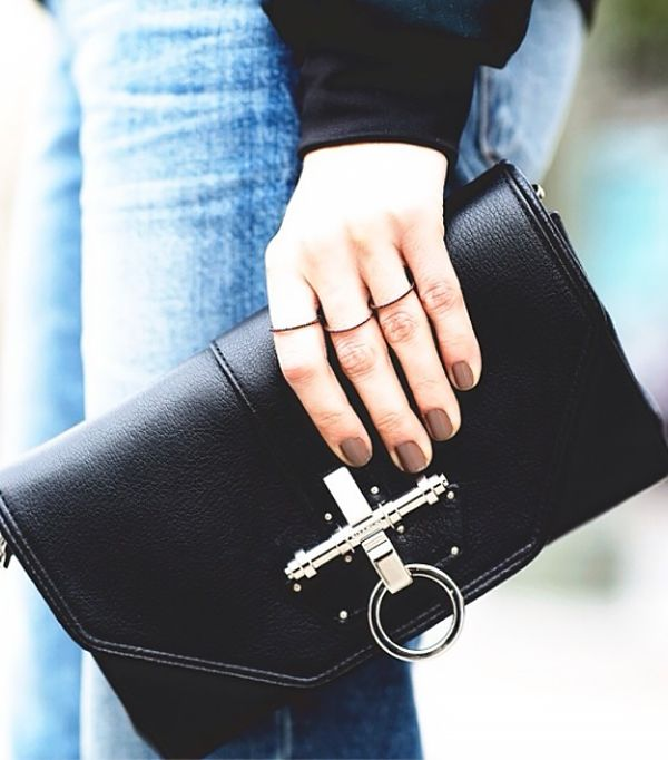 8b8221a023  ALWAYSJUDGING . wears a Givenchy Obsedia bag and XIV Karats LTD ring set.