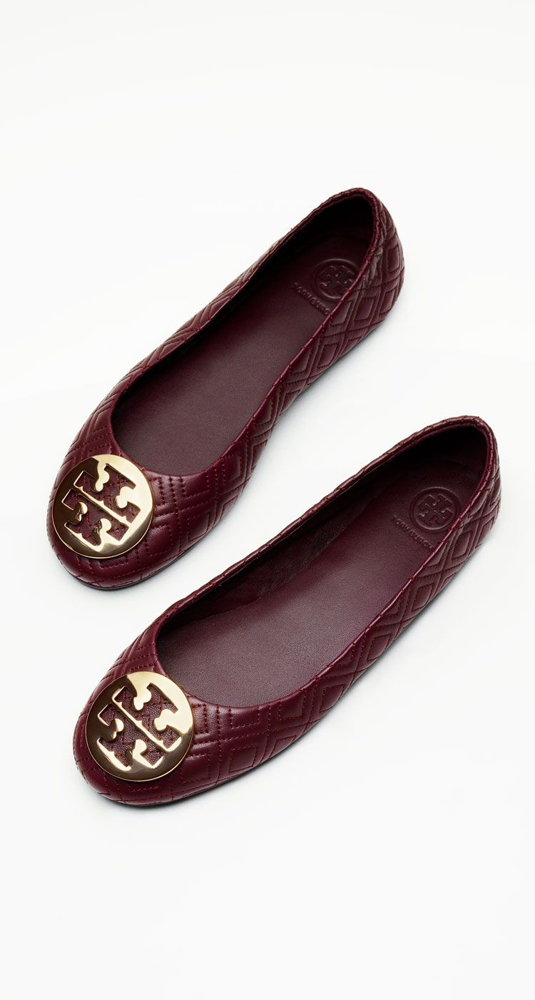 a643f3e7d174 Tory Burch MINNIE TRAVEL BALLET FLAT