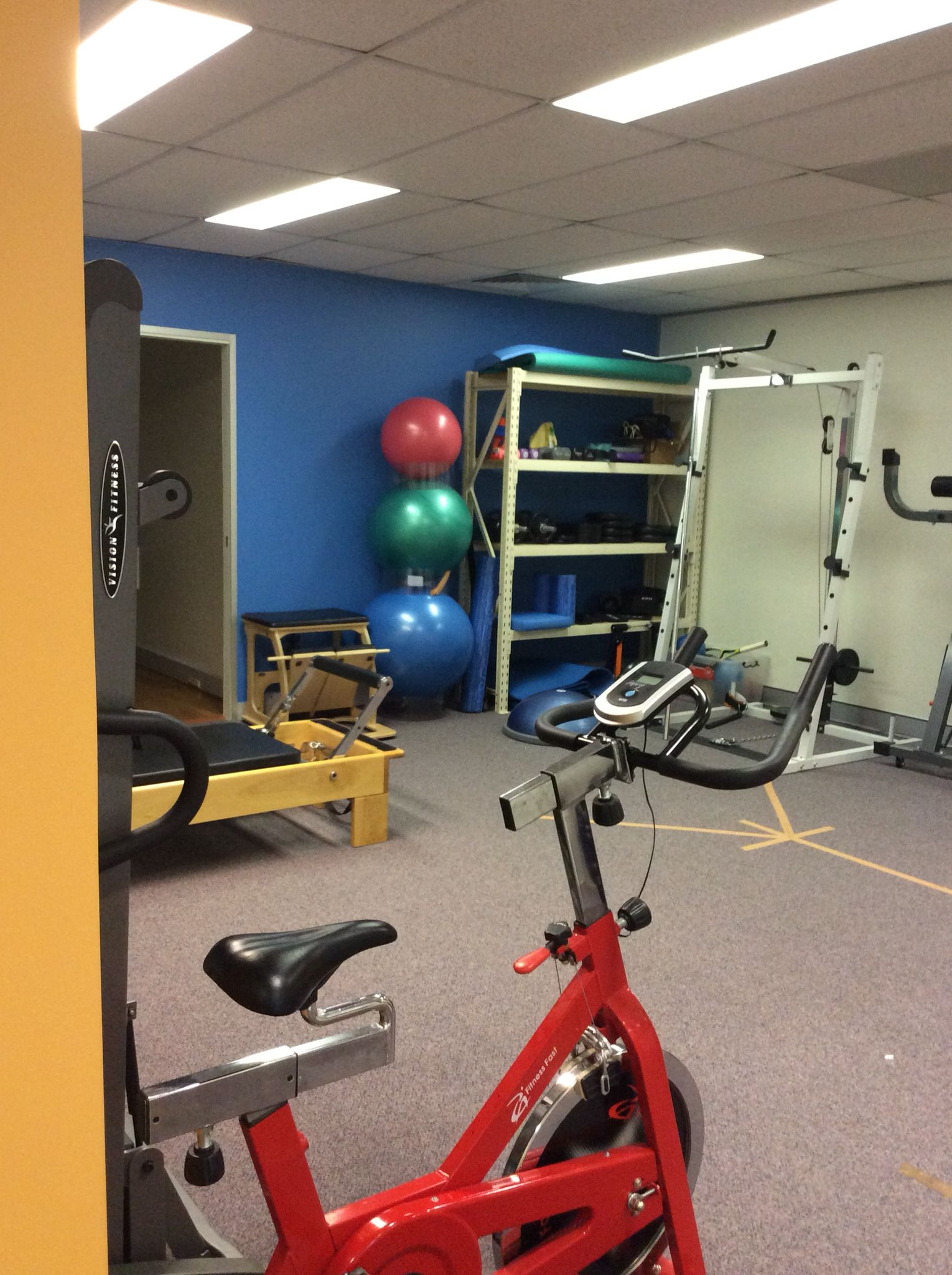 The clinic has gotten a facelift over the holidays! The