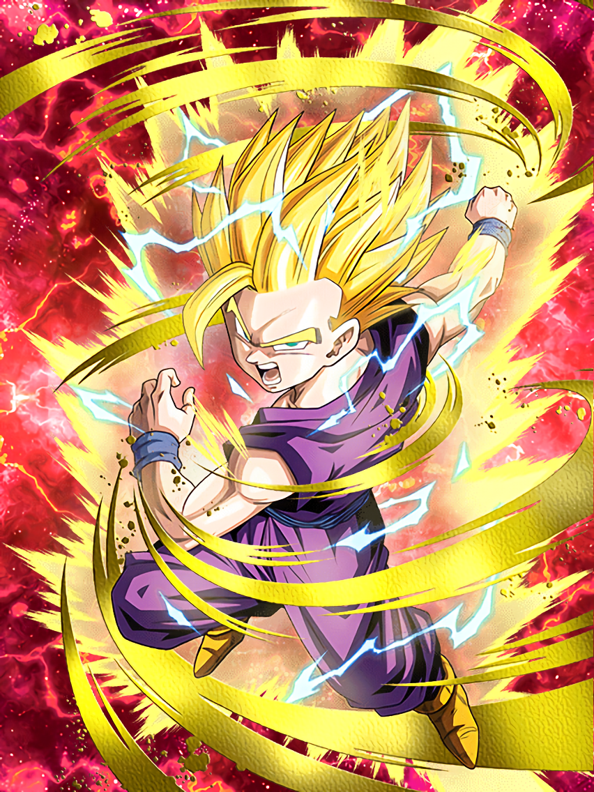 Flaring Rage Super Saiyan 2 Gohan Youth I Guess That S It For You Then Anime Dragon Ball Super Dragon Ball Wallpapers Anime Dragon Ball
