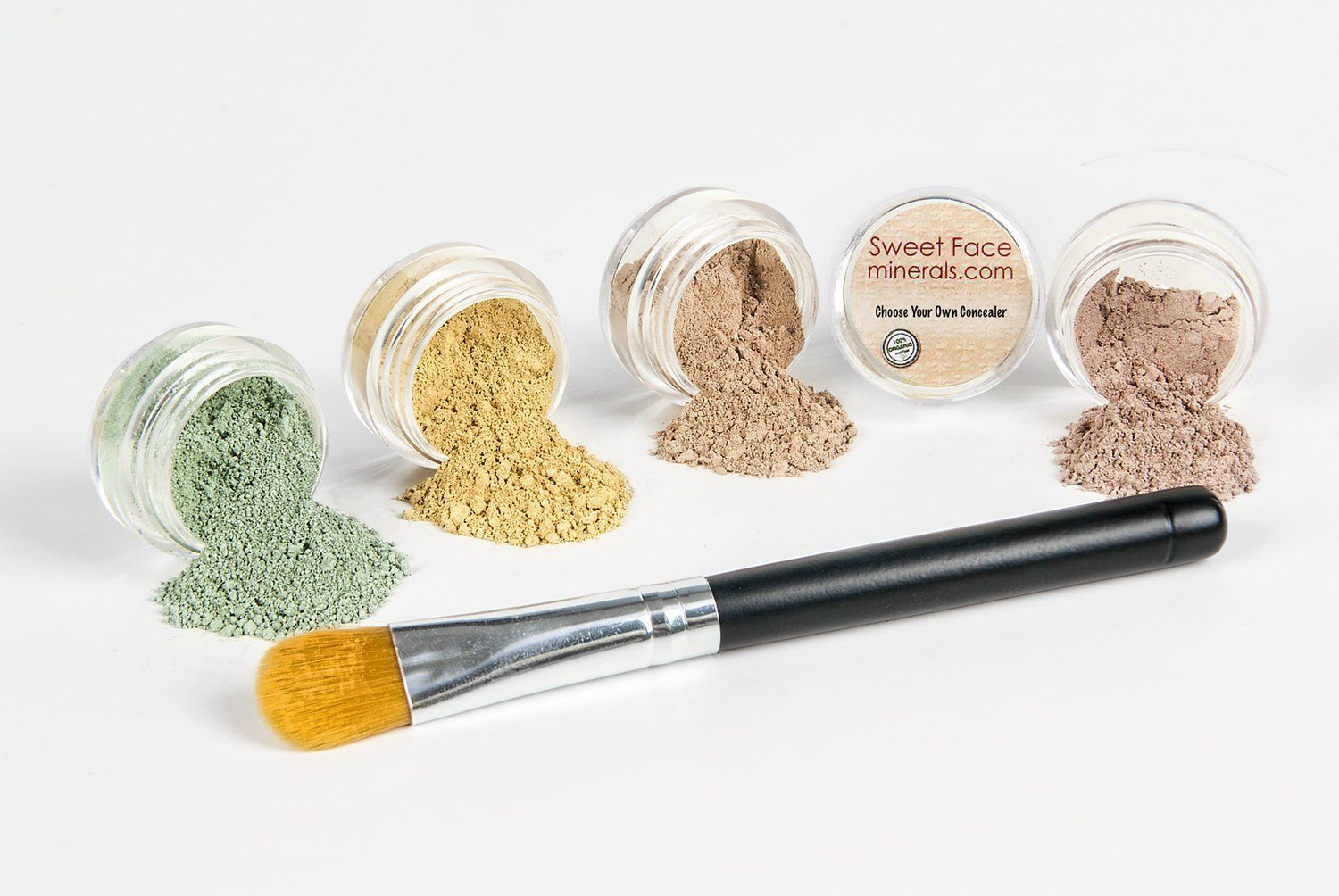 CONCEALER and CORRECTOR Kit with BRUSHChoose Your Size and