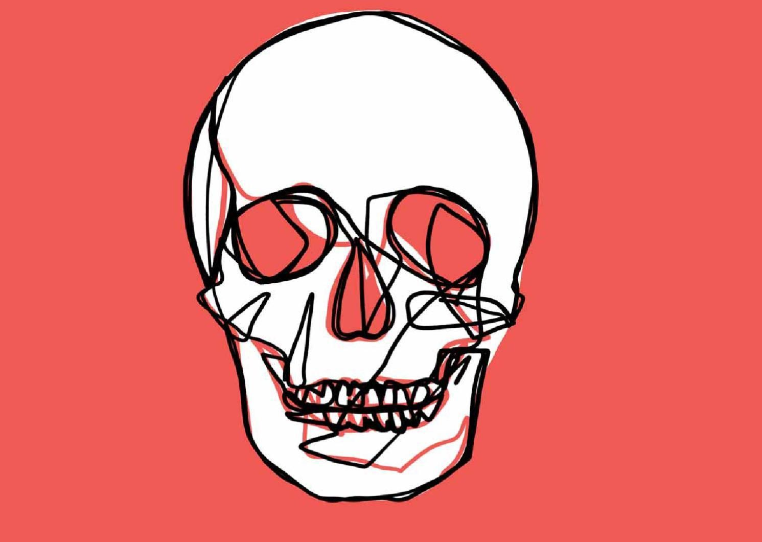 Skulls Digitalianart Skull Illustration Skulls Drawing Skull Stencil