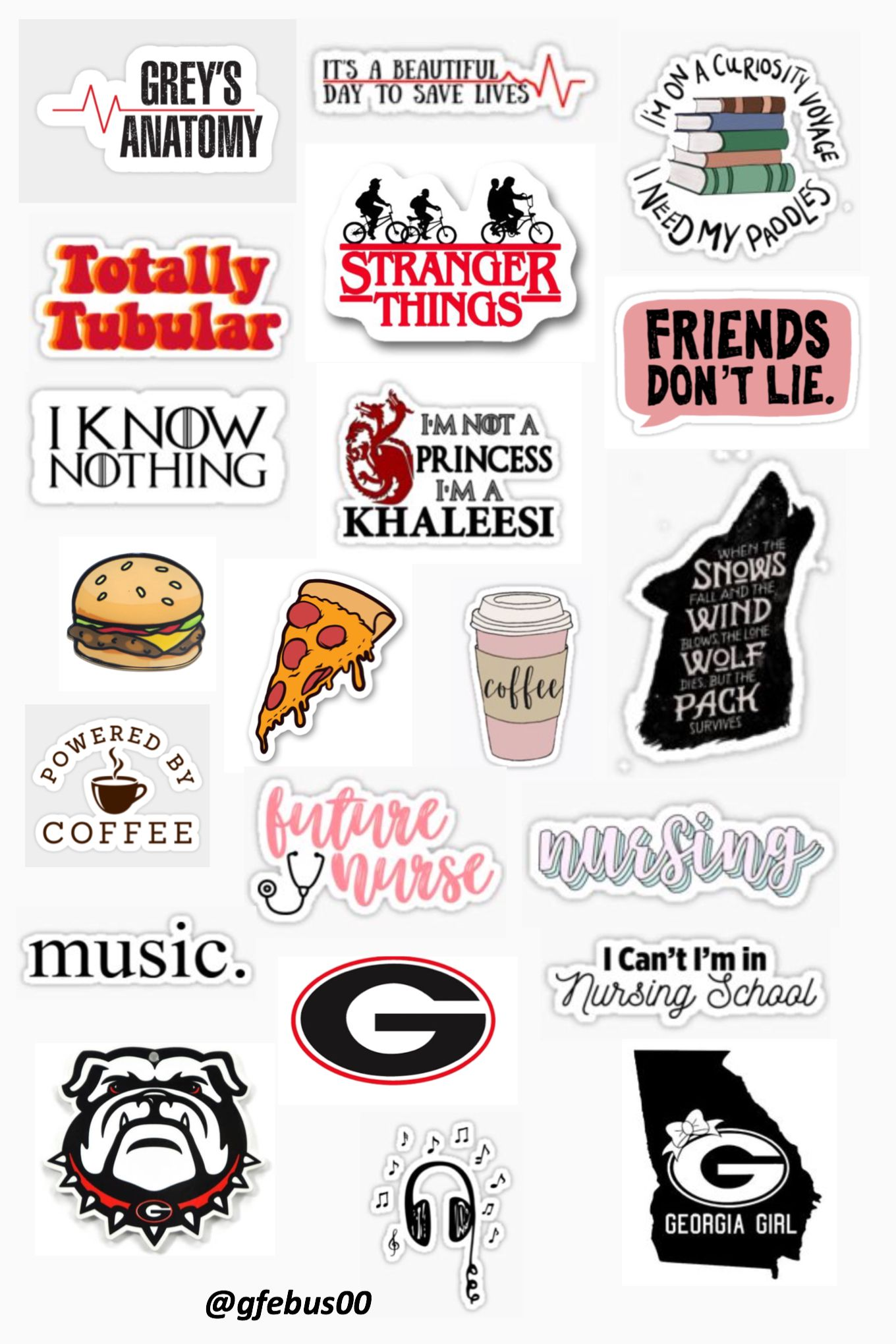 Tactueux image pertaining to aesthetic printable stickers