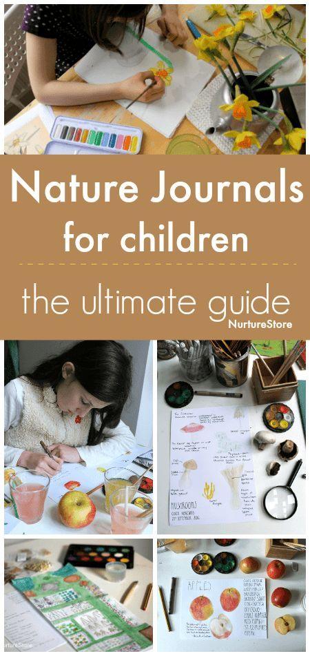 The ultimate guide to nature journals for children - NurtureStore