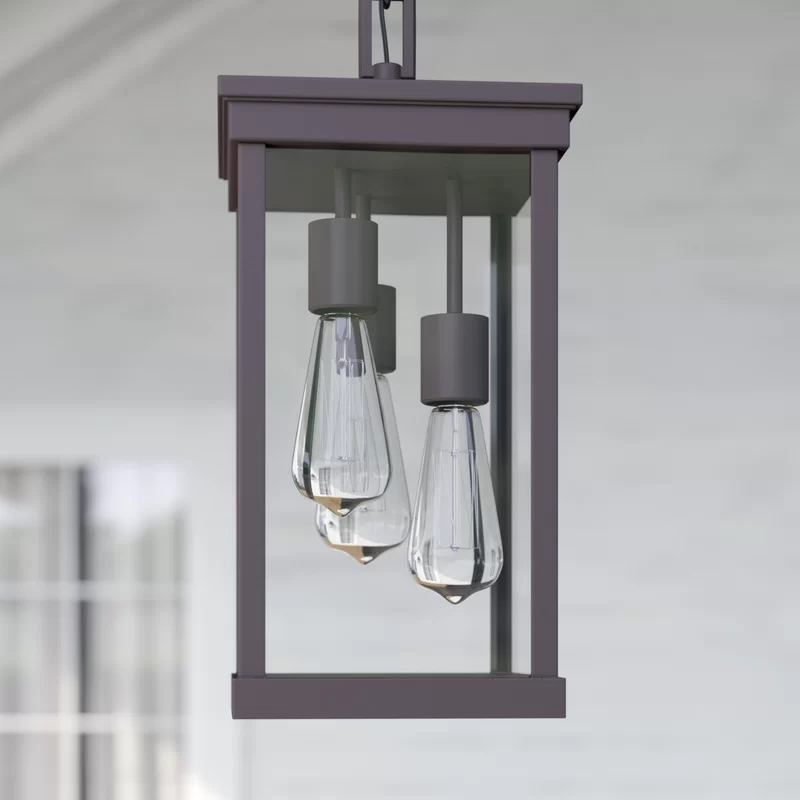 Ringling Oiled Bronze 3 Bulb 16 1 H Outdoor Hanging Lantern Outdoor Hanging Lanterns Hanging Lanterns Outdoor Hanging Lights