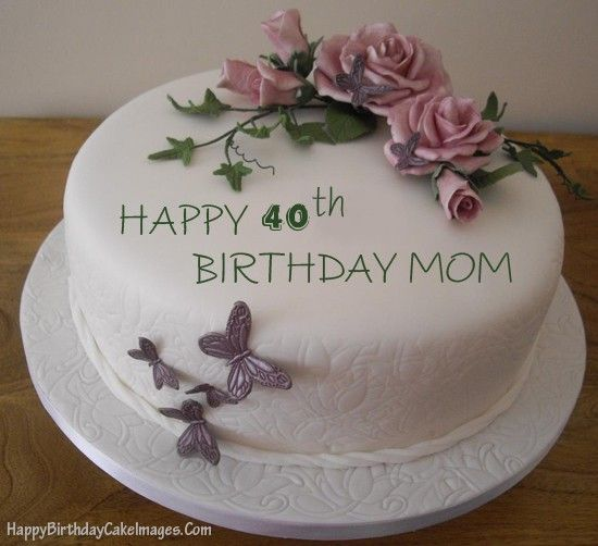 birthdaycakeformomwithagejpg 550502 Cake for mum