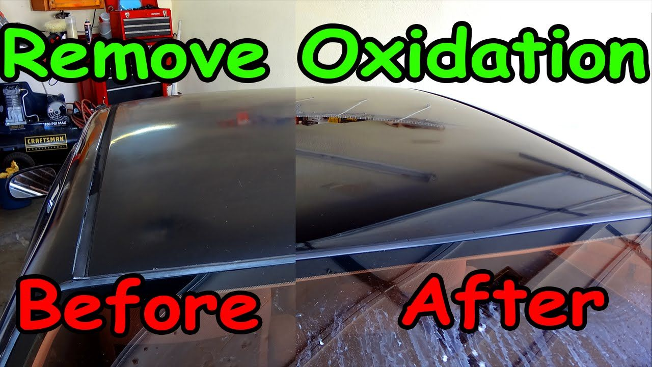 How To Remove Oxidation From Car Paint Car Paint Repair Car Painting Car Hacks