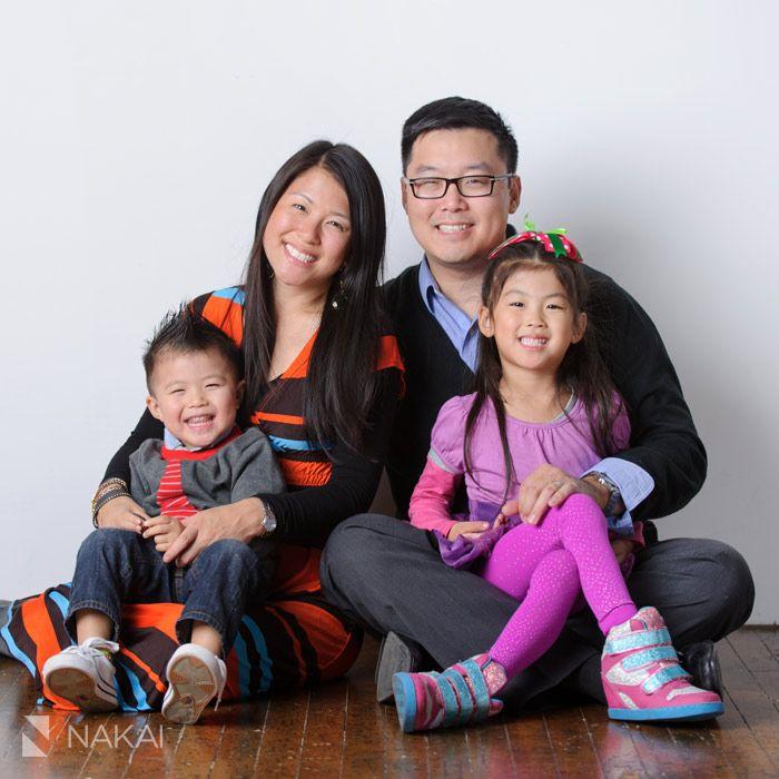 Chicago Family Portrait Photographer In Studio W Ella Joy