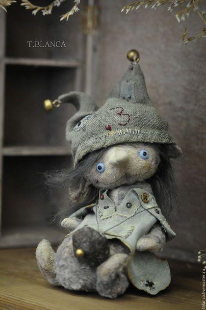 Мишки Тедди ручной работы. Ярмарка Мастеров - ручная работа. Купить Нокл Jr. Handmade. Серый, друзья, глаза стеклянные