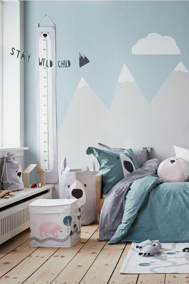 Star-print Duvet Cover Set in 2019 | baby | Kids bedroom, Duvet ...