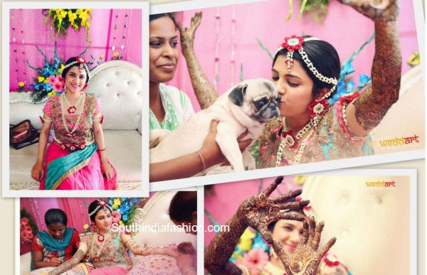 Flower Jewellery For Mehndi : Flower jewellery for brides south india fashion and floral
