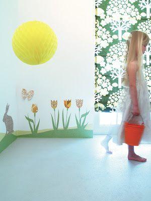Vinilos de pared personalizables by Inke Heiland. elige estampados y formas y crea tu vinilo como mas te guste...Encuéntralos en Alboroque Decoración.