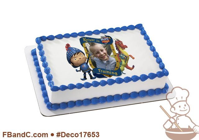 Deco17653 | MIKE THE KNIGHT KNIGHT IN TRAINING PC FRAME | Nickelodeon, custom, photo.
