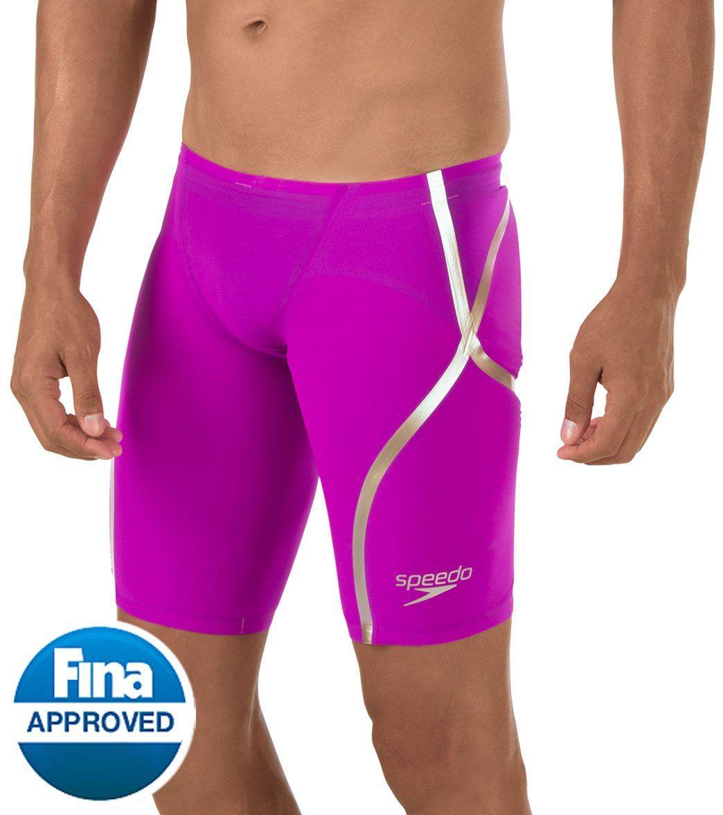 Speedo Men s LZR Racer X Jammer Tech Suit Swimsuit  6e742a837