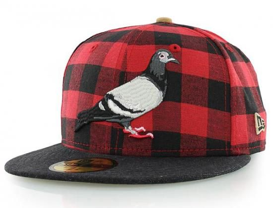 Pigeon Buffalo 59Fifty Fitted Baseball Cap by STAPLE x NEW ERA ... 8ae2e14de641