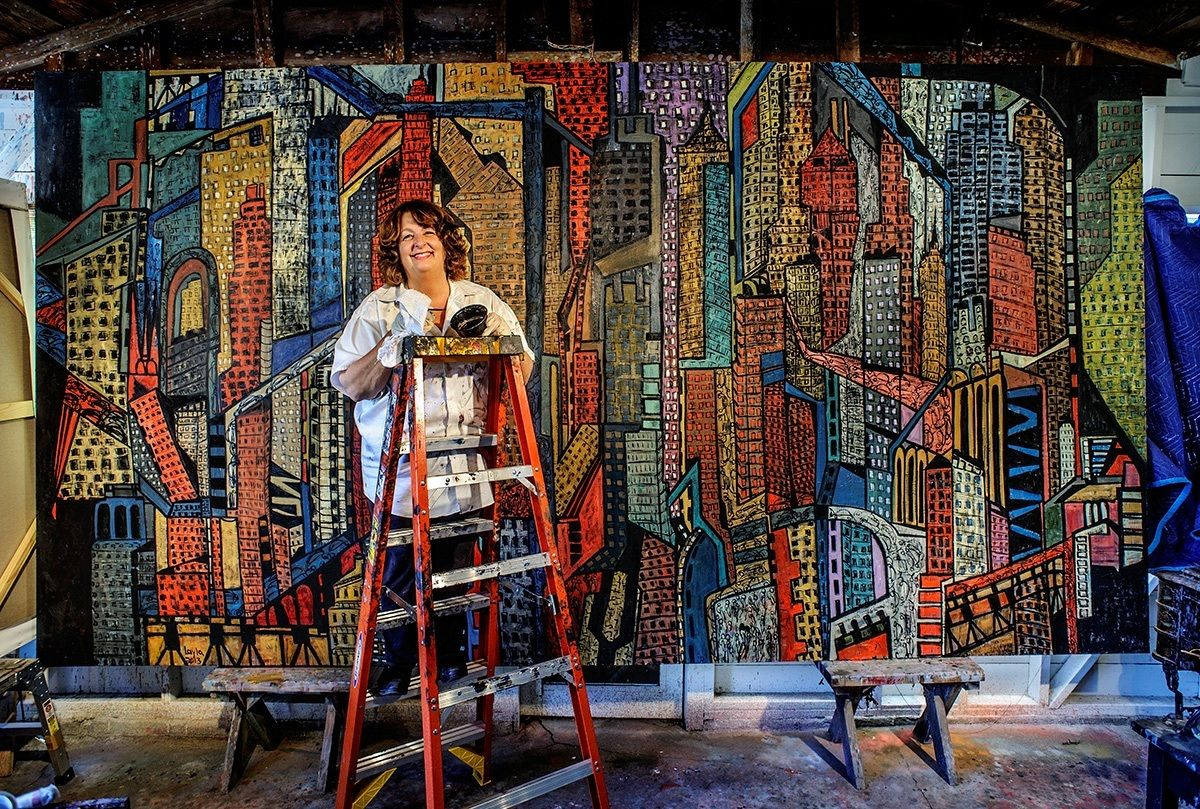 This Teacher Quit Her Job To Pursue Painting Now Her