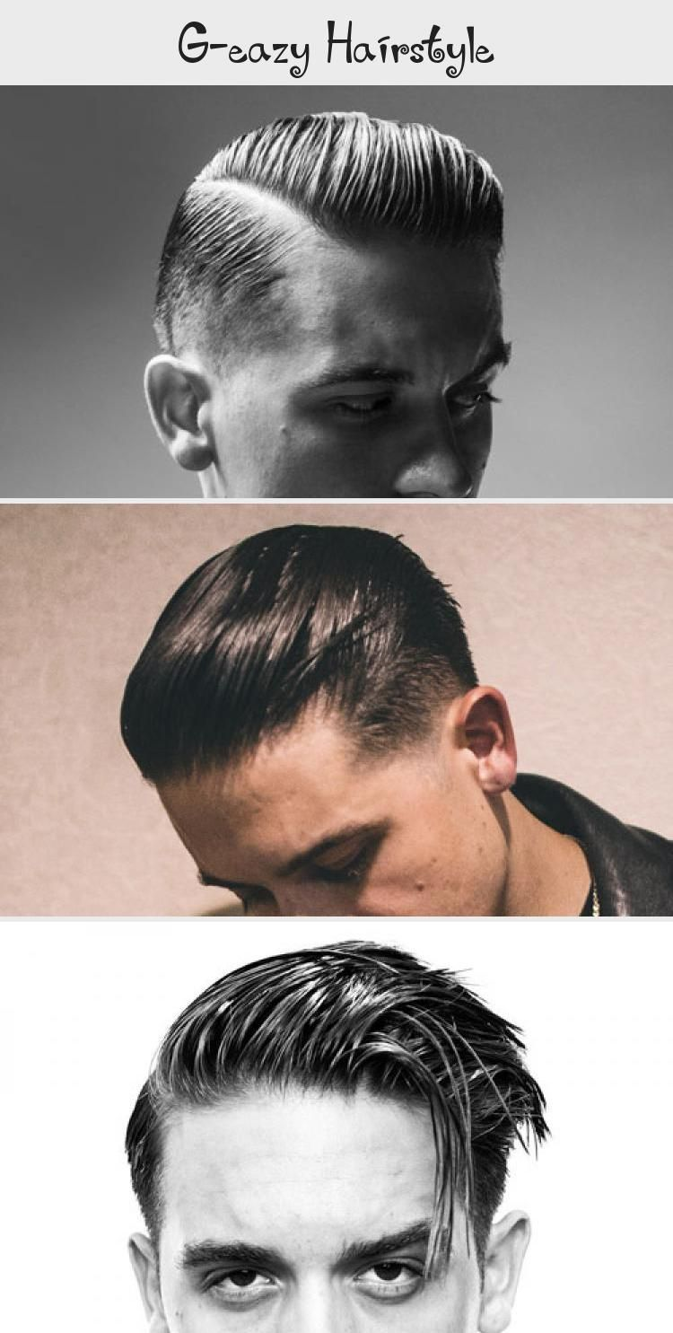 G Eazy Hairstyle : hairstyle, G-Eazy, Men's, Hairstyles, Slicked, Hair,, Taper, Fade,, Over,, Part,, Undercut, #HairSty…, Asian, Hairstyle,, Classic, Haircut