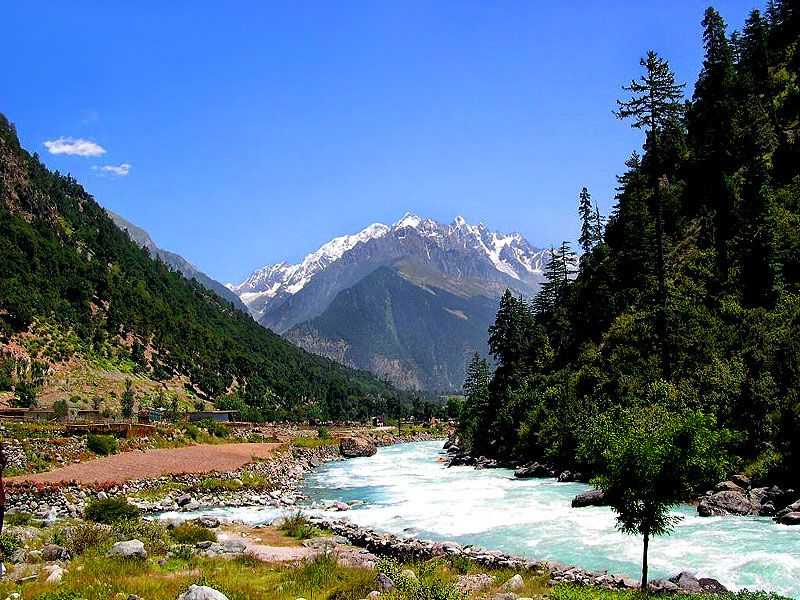Ushu Valley Pakistan Wallpaper Beautiful Landscapes Picturesque