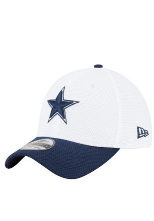 best shoes classic style new release Cowboys Hats White Training 3930 Youth Flex Hat | NFL - Dallas ...